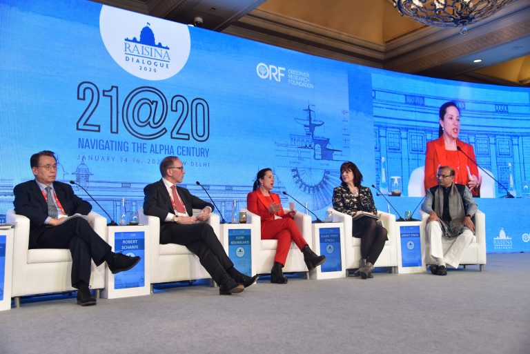 Raisina Dialogue 2020 at Delhi