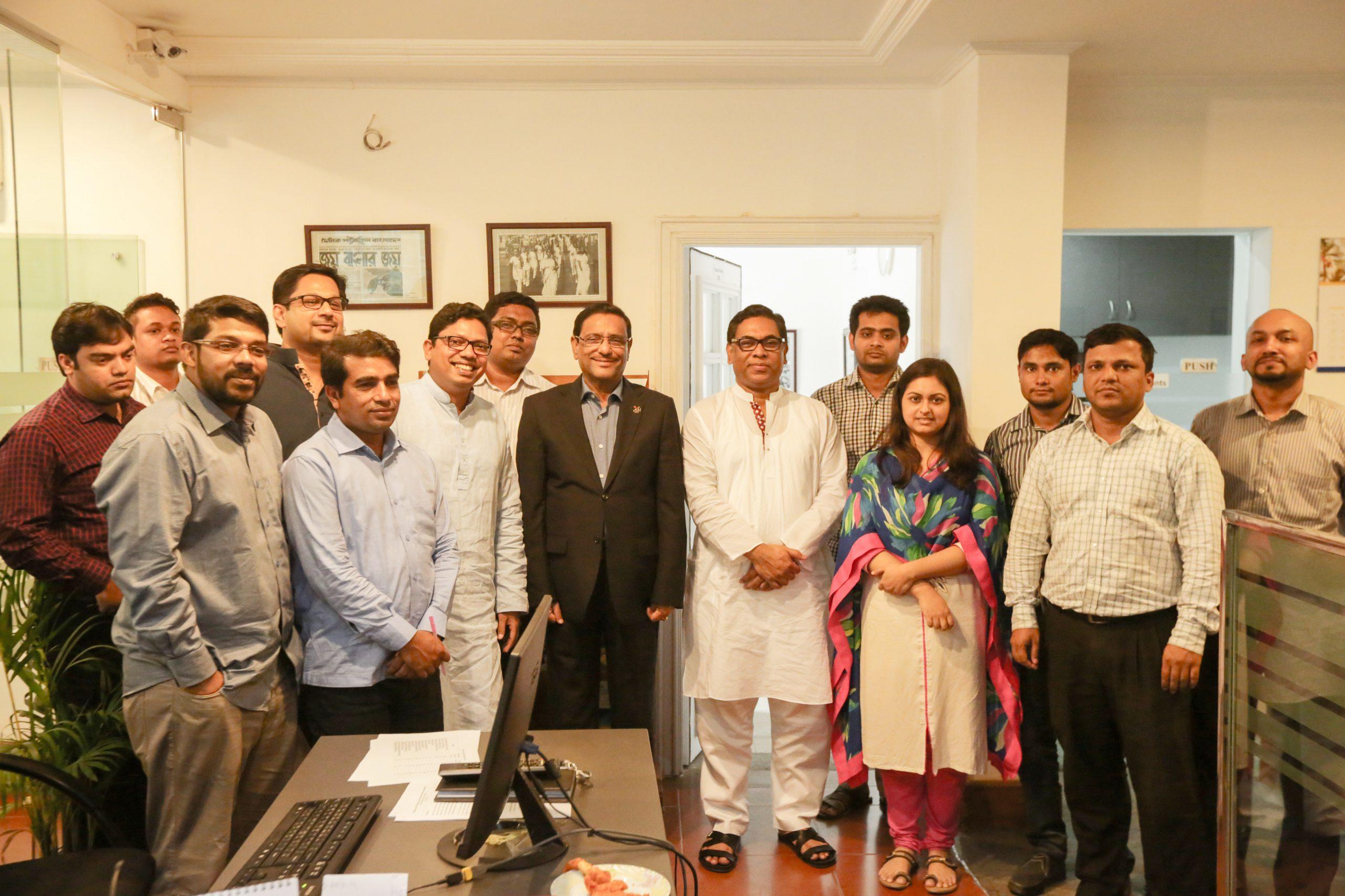 Road Transport and Bridges Minister Visits CRI