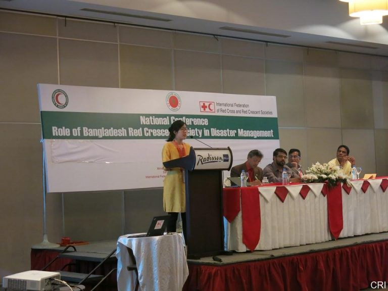 CRI Research Presented at Disaster Management Conference