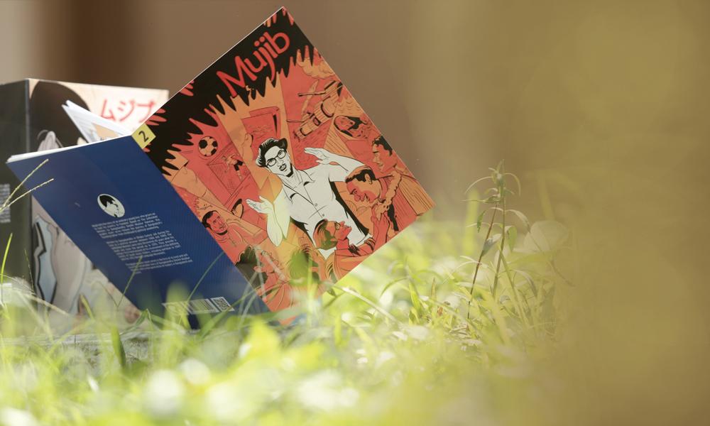"""Mujib"" Graphic Novel at Lit Fest 2018"