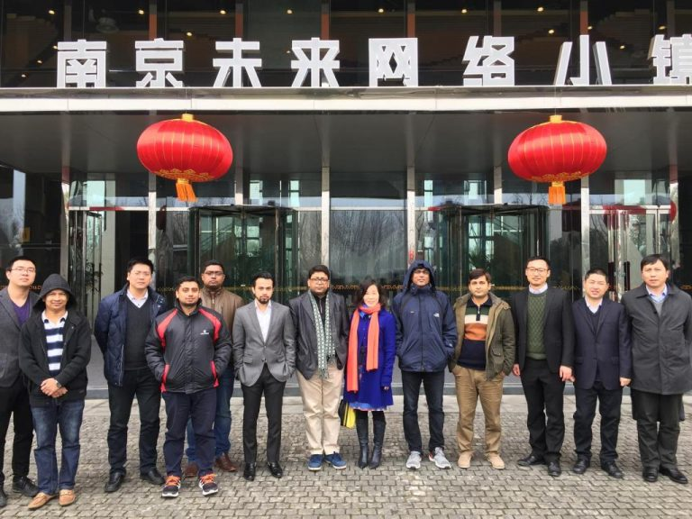 E-village Team visits China Key Systems and other Tech Giants