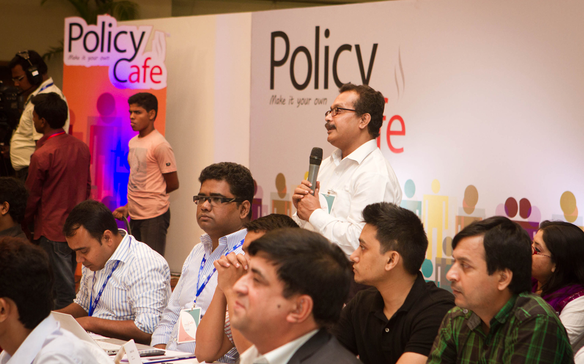 Envisioning Digital Bangladesh in Policy Cafe