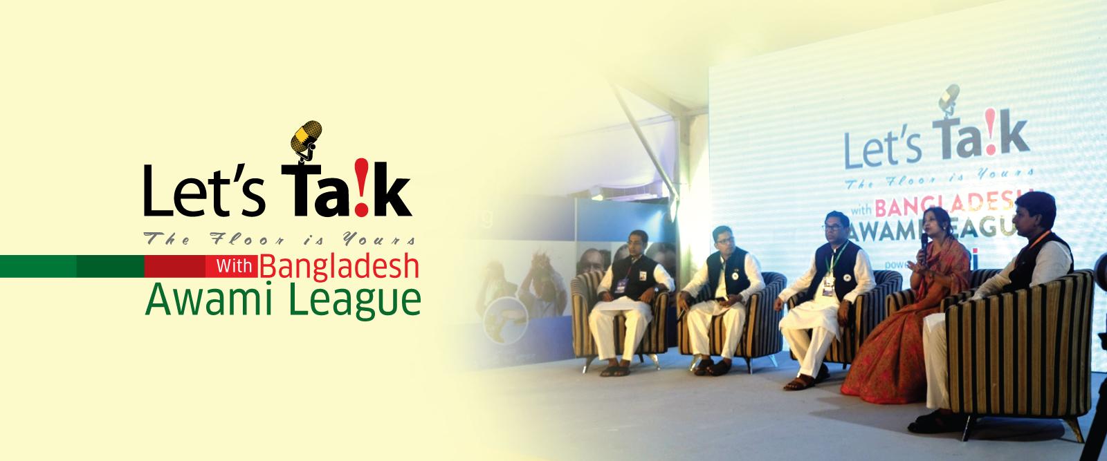 Let's Ta!k with Bangladesh Awami League