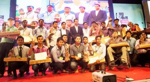 20 champions of change received award