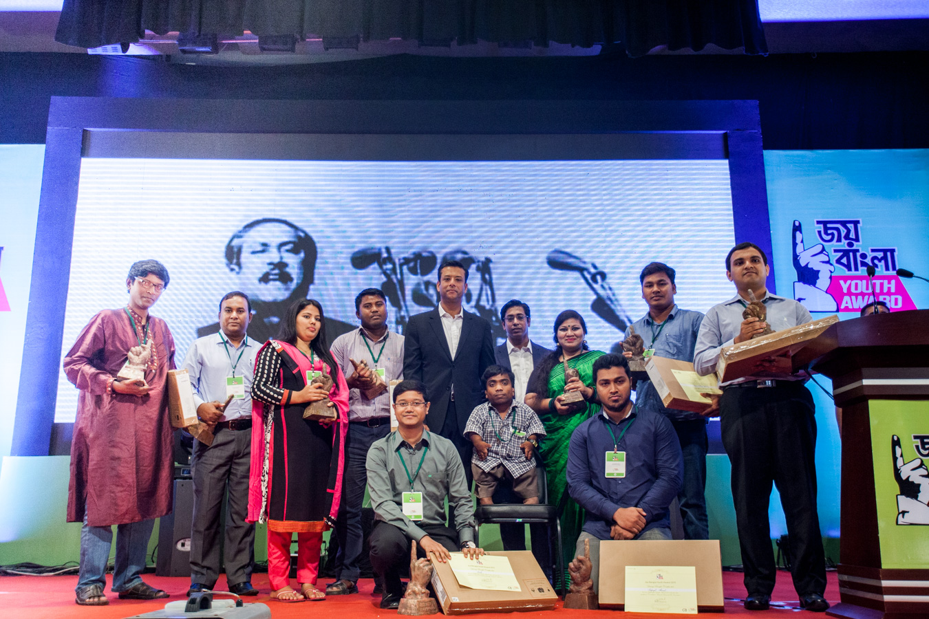 Another 10 Change Makers Received JBYA in Different Categories