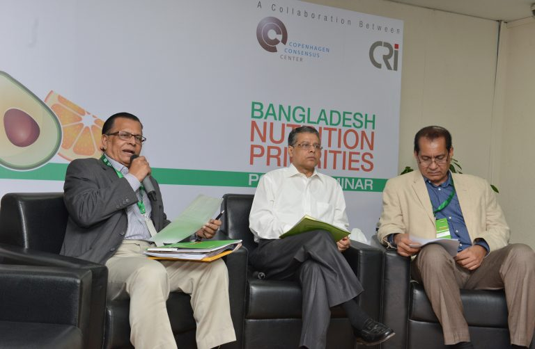 Bangladesh Nutrition Priorities Policy Seminar