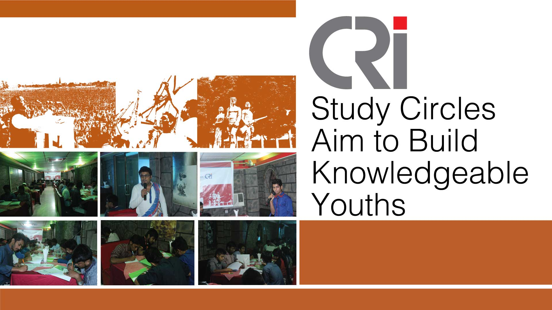 CRI Study Circles Aim to Build Knowledgeable Youths