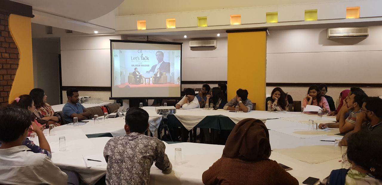 Focus Group Discussion session with youth