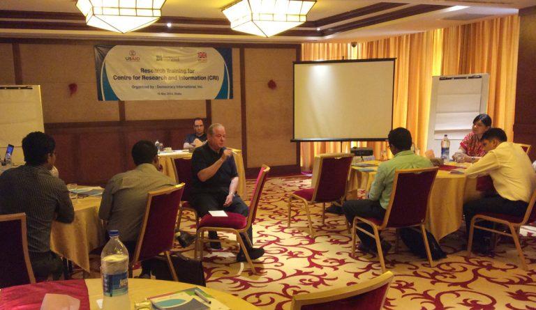 DI & CRI discuss public opinion research