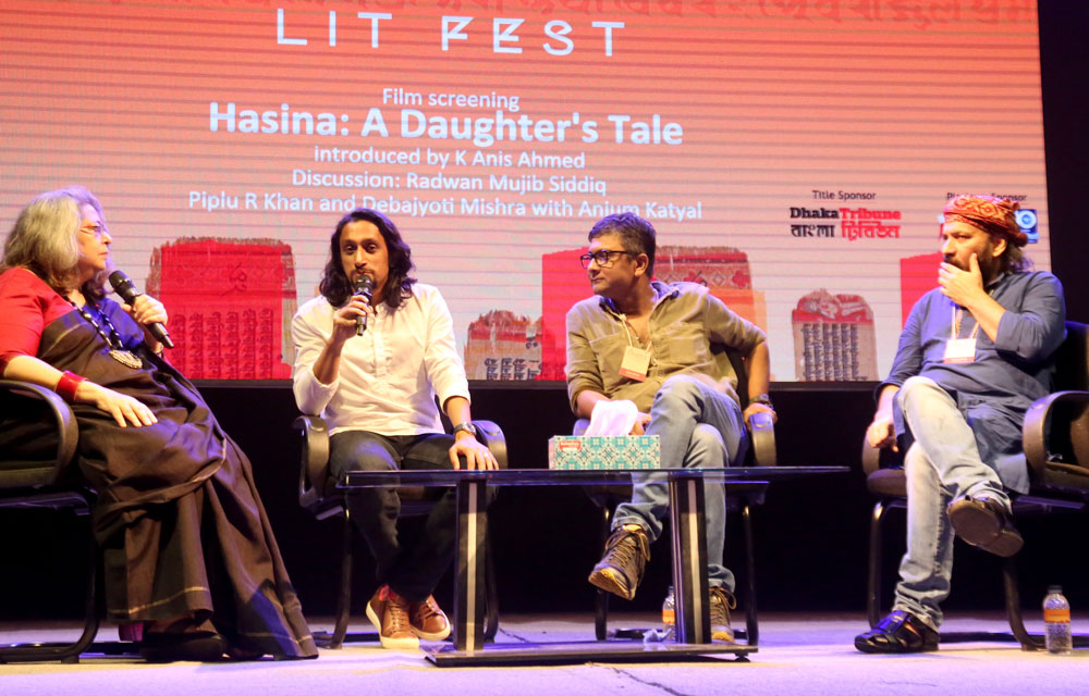 Hasina A Daughter's Tale at Dhaka Lit Fest 2019