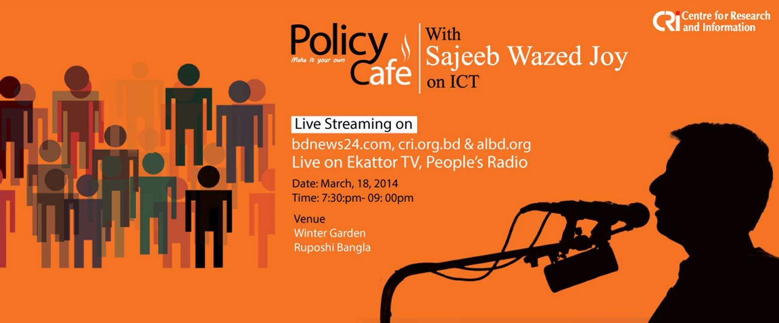 Live discussion with Sajeeb Wazed Joy
