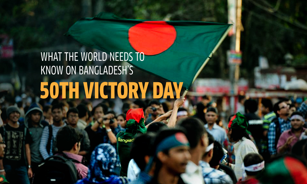 What the world needs to know on Bangladesh's 50th Victory Day