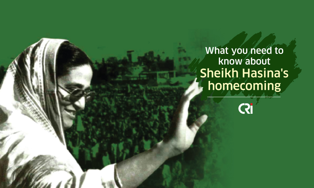 What you need to know about Sheikh Hasina's homecoming